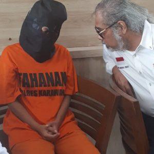 Kunjungi Lapas Karawang, Ketua Umum Komnas Perlindungan Anak Arist Merdeka Sirait menanggapi kasus kejahatan seksual bergerombol (gengRAPE) yang tak hentinya terjadi di Garut akhir ini