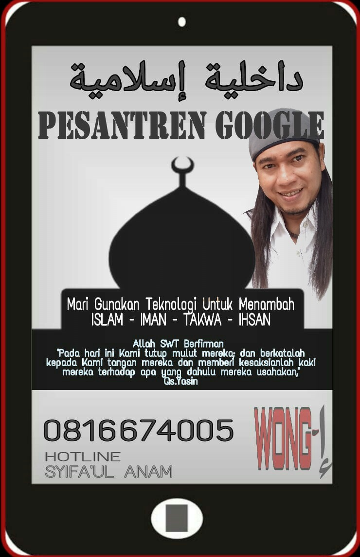 Pesantren Google Wong I, gerakan Menebar kebaikan melalui perangkat media sosial