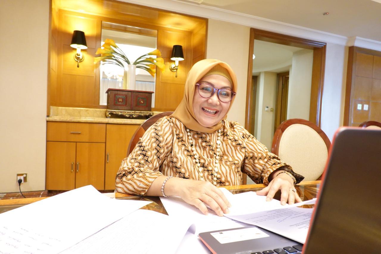 Deputi bidang Pelayanan Publik Kementerian PANRB Diah Natalisa