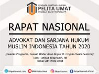 Rapat Nasional Advokat Dan Sarjana Hukum Muslim Islam 2020