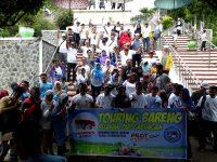 Perkuat Basis, Ratusan Relawan PADI Madiun Touring Bareng