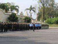 Ziarah Makam Pahlawan Kodim 0735/Surakarta Bersama Kasrem Jelang Peringatan HUT Korem Ke-53