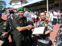 Kasdim 0735/Surakarta Bersama Forkopimda Hadiri Upacara Hardiknas Tahun 2019