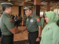 Laporan Korps Kenaikan Pangkat, Momen Mengenang Perjalanan Karir 20 Pati TNI AD