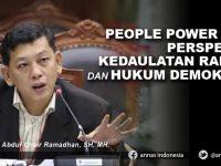 PEOPLE POWER DALAM PERSPEKTIF KEDAULATAN RAKYAT DAN HUKUM DEMOKRASI