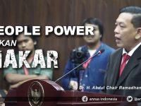 PEOPLE POWER BUKAN MAKAR DR. H. Abdul Chair Ramadhan, S.H., M.H.