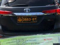 Pakai Mobil Berplat Dinas Polisi Palsu, Kevin Kosasih Ditindak