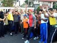 "Semarak ""Dewek Seduluran"", TNI, Polri, Pemda dan Masyarakat Banyumas, Sambut Hari Bhayangkara Ke-73"