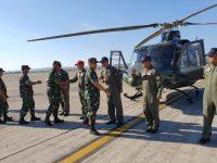 Kasdam IV/Dip Lakukan Dalwasops Satgas Pamtas RI-RDTL Yonif Raider 408/Sbh