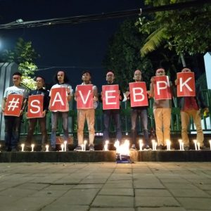 Situasi Darurat, Masyarakat Gelar Doa dan Sholawat #SelamatkanBPK