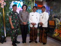 Pjs Danramil 04/Jebres hadiri Grand Opening Graha TA Media Grup Surakarta