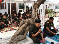 Jelang HUT ke 69 Kodam IV, Pangdam Ziarah ke Makam  Pangeran Diponegoro