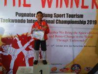 Febryawan Anak Kolong Harumkan Indonesia Ajang Pugnator Badung Sport Tourism Taekwondo International Championship