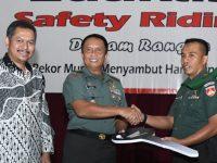 Pecahkan Rekor Muri Edukasi Safety Riding Oleh Kodam IV Dan Astra Motor