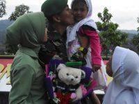 Rumah Tahan Gempa, Kompi Tanpa Kawandya Selesaikan Tugas Kemanusiaan di Lombok