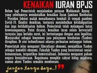 """""""MENGGUGAT KENAIKAN IURAN BPJS KESEHATAN"""" Dr. H. Abdul Chair Ramadhan, S.H., M.H."""