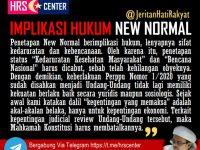 IMPLIKASI HUKUM STATUS NEW NORMAL