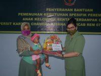 Persit KCK Koorcab Rem 071 PD IV/Diponegoro Berikan Bantuan Spesifik Perempuan dan Anak Kelompok Rentan Covid-19