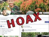 Waspada! Akun Palsu CORENG TNI AD