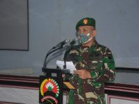 Letkol Heri Sumitro Serahkan Jabatan Kasrem Kepada Danrem 071/Wijayakusuma