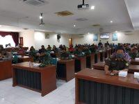 Rakor Tim Terpadu Penanganan Konflik Sosial di Kabupaten Magetan Tahun 2020
