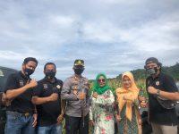 Perkuat Ketahanan Pangan, Pokdarkamtibmas Bhayangkara Resor Pessel ikut panen raya