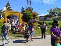 Jamin Pelaksanaan Aman dan Lancar Polsek Lumar Laksanakan Pam Gereja