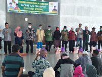 Sekretaris Kota Pekanbaru Hadiri Acara Baznas Distribusikan 200 Paket Sembako.