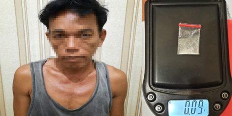 Jadikan Rumah Tempat Transaksi Narkotika, Seorang Petani Ditangkap Polres Tulang Bawang