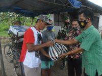 Jelang HUT Ke-49 Korpri, Korpri TNI Sub Unit Makorem 071/Wijayakusuma Peduli Sesama