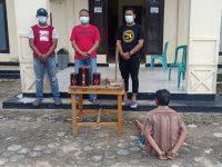 Polsek Gedung Aji Tangkap Pelaku Curat Yang Beraksi di Kampung Sendiri