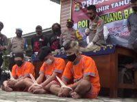 Polres Tulang Bawang Barat  Menggelar Press Release Akhir Tahun 2020
