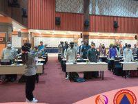 Rakor BPBD Jatim Bersama Ratusan Mitra SRPB Jatim 2021 Digelar Di Malang