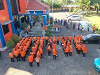 22 OPD Pemprov Jatim dan SRPB Jatim Ikut Latihan Evakuasi Mandiri