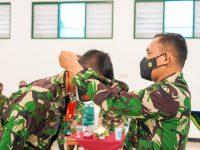 Danrem Wijayakusuma Tutup Training of Trainers Satgas Standby Forces UNPCRS Yonif 406 Candra Kusuma