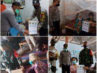Polres Magetan Bagikan Ratusan Paket Sembako Ke Masyarakat Terdampak PPKM Darurat