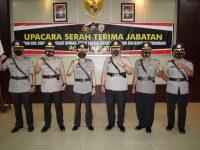 Kapolres Magetan Pimpin Sertijab Pejabat Utama dan Pelepasan Anggota Purna Bhakti