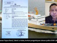 Wartawan Papua Barat Zainal La Adala Dianiaya Oknum Polisi di KM Labobar