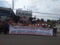 Salurkan Bantuan, Relawan Magetan Disambut DPRD Propinsi Banten