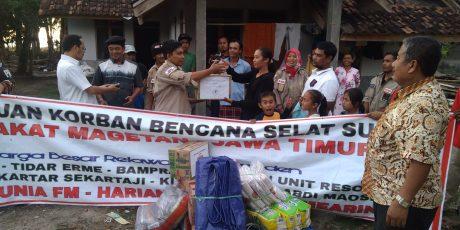 Bantuan Di Posko Tidar Erme Disalurkan Ke Banten