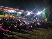 Haul Syuhada Monumen Soco, Masyarakat Anti Komunis Berikrar Dan Bakar Bendera PKI