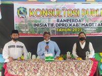 DPRD Magetan Gelar Konsultasi Publik Inisiatif Raperda Magetan
