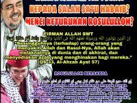 Ancaman Allah Bagi Yang Ngaku Islam Tapi Benci Habaib Keturunan Nabi Mukhammad SAW