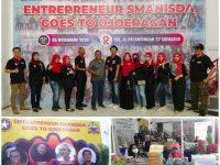 Saturrahmi Alumni Smanisda Gelar Sharing Bisnis Entrepreneur Hadirkan Belasan Produk UMKM