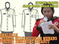 Disebut Ngawur Intruksi Mendagri Ngatur Jilbab PNS. Akhirnya Dicabut Setelah 10 Hari Dihujat Masyarakat