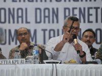 KPU Tetapan Hasil Pilpres Jokowi 55,50%, Prabowo 44,50%, Inilah Suara 16 Partai